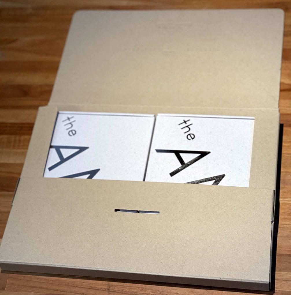 theANko3個入りギフトボックス ネコポス封筒